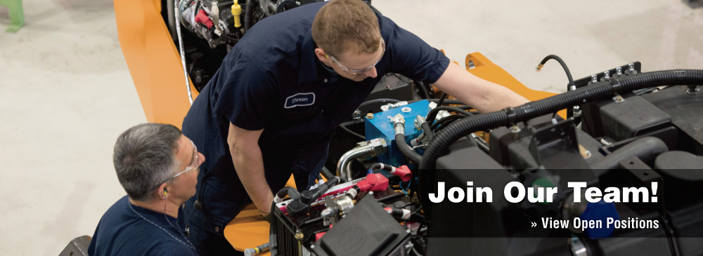 Join Our Team! Now hiring equipment technicians.