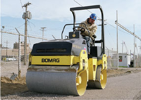 Rental Roller and Compaction Equipment in Kentucky and southern Indiana